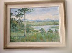 Acervo 1980 tela pintada sobre saco de estopa