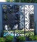 Garden mirror idea