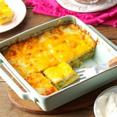 Chile Relleno Squares Recipe -My family requests this dish regularly - it's easy to prepare and makes a nice hors d'oeuvre or complement to a Mexican or Spanish meal. A friend I worked with shared the recipe with me several years ago. Turkey Casserole, Casserole Recipes, Mexican Casserole, Broccoli Casserole, Bean Casserole, Casserole Dishes, Mexican Dishes, Mexican Food Recipes, Mexican Meals