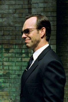 Agent Smith aka whyne (The Matrix Trilogy) Agent Smith Matrix, Sherlock Holmes, Best Movie Villains, Man In Black, The Matrix Movie, Matrix Reloaded, Carrie Anne Moss, Hugo Weaving, Film Blade Runner