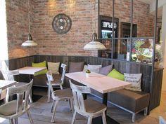 Klein aber fein  -  Einrichtung Bäckerei & Café im Vintage Style,  Stuhlfabrik Schnieder, Lüdinghausen