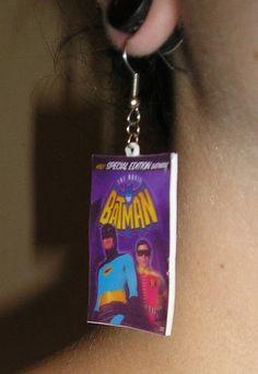 Batman Movie Earrings