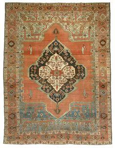 MOSHE TABIBNIA . Collezione . Tappeti, arazzi e tessuti d'alta epoca   Bakshaiesh , Persia Nord-occidentale XIX sec. , II metà Tappeto annodato in lana 374 x 284 cm Inv. n.: 131432