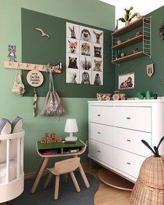 48 Best Ideas For Children Room Girl Bedroom Ideas Boy Decor Girl Room, Girls Bedroom, Bedroom Ideas, Childrens Bedrooms Boys, Bedroom Decor, Green Kids Rooms, Baby Room Green, Kids Interior, Boy Decor