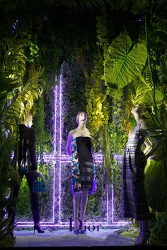 Window display Dior, Bergdorf Goodman, New York, March2014 pinned by Beekwilder