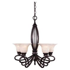 Cast a captivating glow above your dining room or foyer with this beautifully crafted chandelier, perfect for hosting sparkling soirees and festive get-toget...