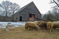 The barn at Philipsburg Manor, Sleepy Hollow NY