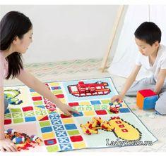 Köşeden Başlamalı Bebek Battaniyesi - Mimuu.com C2c, Crochet, Kids Rugs, Mademoiselle, Decor, Blanket Patterns, Playground Mats, Cross Stitch, Decoration