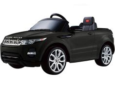 LAND ROVER EVOQUE STYLE 12V KIDS ELECTRIC RIDE-ON CAR BATTERY POWERED WHEELS WITH R/C PARENTAL REMOTE | BLACK