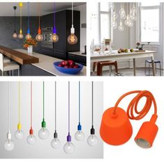 Cable de 1 m tre couleur silicone luminaire suspension style europ en m - Lampe architecte ikea ...