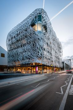 Coupechoux Group's Manny Building in Nantes, France by Tetrarc Architects