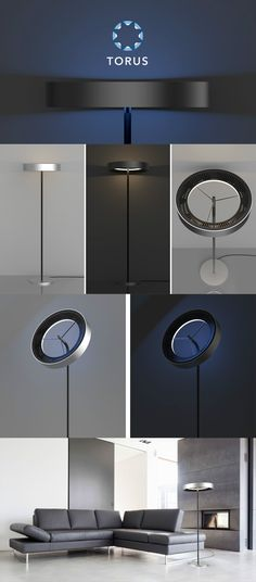 THIS FAN GIVES YOU A 'LIGHT' BREEZE! Read more at Yanko Design