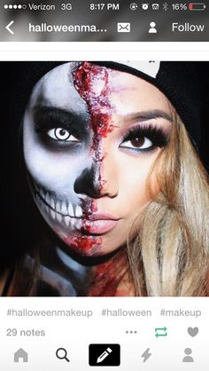 If you need poppin' alien makeup for your alien costume this Halloween, this kit is insane. Soooo pretty and this look was actually really easy to do. Amazing Halloween Makeup, Halloween Eyes, Halloween Makeup Looks, Halloween Costumes, Halloween Couples, Halloween Face Paint Scary, Halloween College, Pretty Halloween, Halloween 2018