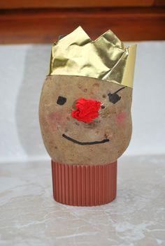 Kartoffelkönig basteln