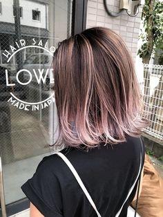 Purple Hair Highlights, Hair Color Streaks, Best Hair Dye, Dye My Hair, Hair Color Underneath, Lavender Hair Colors, Aesthetic Hair, Hair Looks, Hair Inspiration