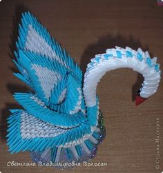 Модульное оригами - НАШ КРАСАВЕЦ