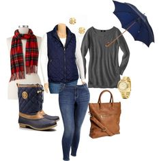 """Singing in the Rain- Plus Size Outfit"""