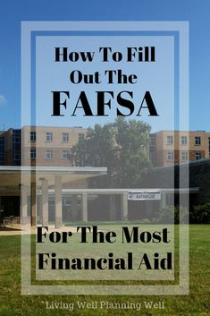12 Must Know Tips for FAFSA Application Filling out the FAFSA application can be overwhelming. I have 12 must know tips to help you secure the most college financial aid by filling out the FAFSA application correctly. Grants For College, Financial Aid For College, College Planning, Online College, College Fun, Education College, College Tips, College Checklist, College Must Haves