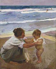 Joaquín Sorolla. 'A la Orilla del Mar'
