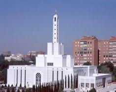 Iglesia de los mormones, Moratalaz (Madrid)