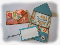 Gothic Lolita Style: Card Nascita - Envelope Card - Wee Stamps - Wee On...