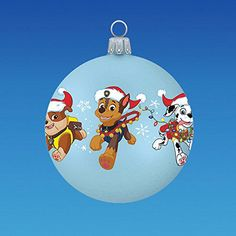 personalized paw patrol characters by gingerspicestudio on etsy ornaments for children pinterest paw patrol characters paw patrol and christmas
