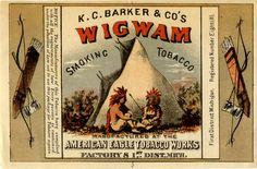 Advertising card for K.C. Barker & Co. | DPL DAMS