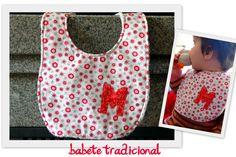 Baby bib - customizable with your baby's name initial. $6. For sale here http://www.facebook.com/mu.xi.cu - muxicu.handmade@gmail.com