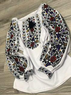 Ukraine, Bomber Jacket, Embroidery, Jackets, Fashion, Needlework, Down Jackets, Needlepoint, Moda