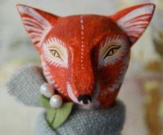 Fox Art Doll by gretchen