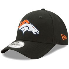 b241f8edb Denver Broncos New Era The League 9FORTY Adjustable Hat - Black