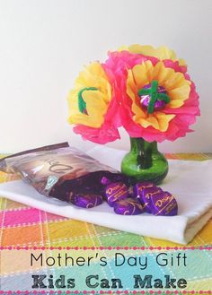 Mother's Day Gift Kids Can Make - http://innerchildfun.com/2014/04/mothers-day-gift-kids-can-make.html #kids #SharetheDOVE