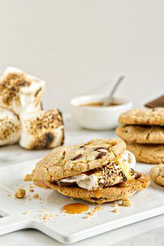 Salted Caramel S'more | mybakingaddiction.com