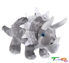 Dinosaur Babies Dolls Stuffed Animal Triceratops Creature Softer Touch Toys Kids #AnimalDen