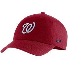 2ef470130db Men s Washington Nationals Nike Red MLB Heritage 86 Adjustable Hat