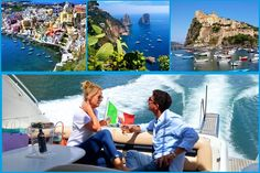 Gulf Of Naples Tour by Sea. Why not rent a boat for the day or a few days and explore the coast line of Capri, Ischia & Procida?! Discover more about our Company: Web Site: www.amalfisails.com E-Mail: info@amalfisails.it