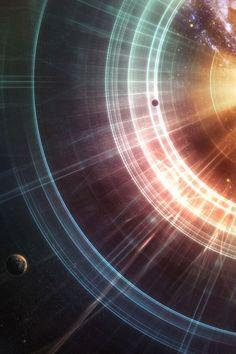 The infinity rays.