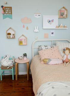 s room, pastel girls room, scandinavian kids rooms. Pastel Girls Room, Scandinavian Kids Rooms, Scandinavian Style, Kids Room Design, Little Girl Rooms, Kid Spaces, Girls Bedroom, Bedroom Decor, Bedroom Ideas