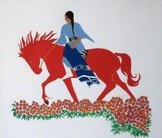 Red Horse    by Sharron Ahtone Harjo  kp