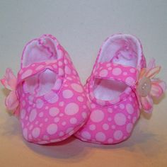 Baby Mary Janes Sewing Pattern
