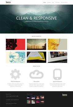 Minimal Portfolio WordPress Theme for Creative websites Best Portfolio Wordpress Themes, Premium Wordpress Themes, Web Design India, Themes Themes, Theme Ideas, Project, Website Themes, Website Ideas, Web Design Inspiration