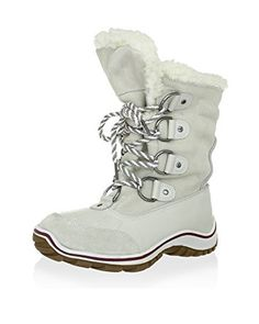 Pajar 6633 Womens Alina White Leather Snow Boots Shoes 8 Medium (B,M) Bhfo White Leather, Suede Leather, Leather Boots, Black Converse Style, Lace Up Boots, Jeans And Boots, Cowboy Boots Women, Winter Snow Boots, Waterproof Boots