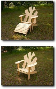 21-5830 - New York Adirondack Chair Woodworking Plan - Sports Teams Entertainment