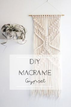 DIY Macrame Gypset // Hëllø Blogzine blog deco & lifestyle www.hello-hello.fr