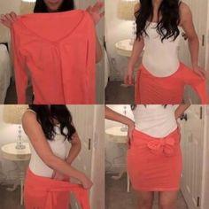 Creatief zijn met kleren!