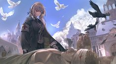 This HD wallpaper is about Fate Series, Fate/Grand Order, Florence Nightingale (Fate/Grand Order), Original wallpaper dimensions is file size is Type Moon Anime, Asuka Langley Soryu, Florence Nightingale, Character Wallpaper, Chica Anime Manga, Anime Art, Fate Zero, Red Eyes, Fate Stay Night