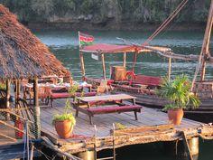 The Moorings restaurant, Mombasa, Kenya.