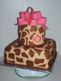 Giraffe Cake / Casi's Cakery