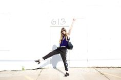 Alex Gehring in Garment Modern from head to toe! Featuring Finell bag, LD Tuttle Shoes and Laura Siegel Pants.