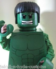 Lego Hulk Costume!